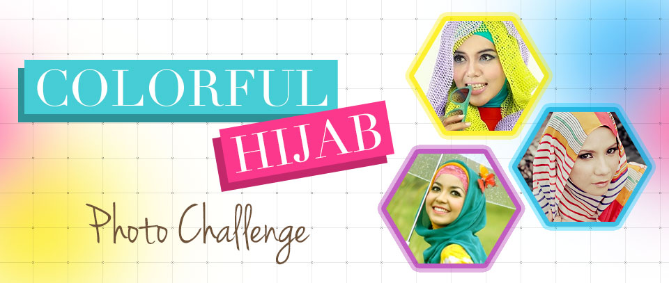 Colorful Hijab Photo Challenge